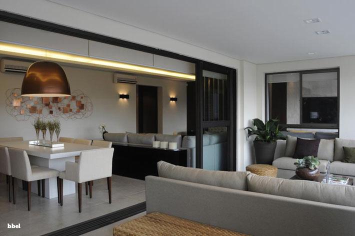 Sala De Estar Integrada Com Jantar ~ Blog Habit Imóveis 10 salas de jantar integradas Como decorar?