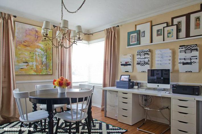 10 salas de jantar integradas o decorar